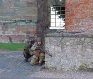 Tutbury城堡 库存照片