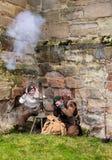 Tutbury castle Royalty Free Stock Images