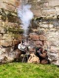 Tutbury castle Royalty Free Stock Image