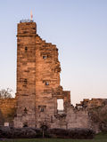 Tutbury castle Stock Photo
