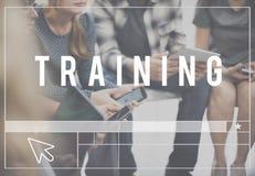 Tutoria das habilidades do treinamento que aprende o conceito imagens de stock royalty free