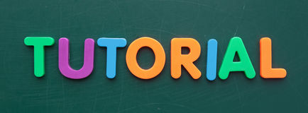 Tutorial Stock Images