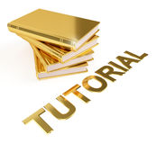 Tutorial Golden Books Education Image Royalty Free Stock Photos