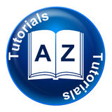 Tutorials Badge Means Educating Educate And Learn. Tutorials Badge Indicating Tuition Studying And Learn Royalty Free Stock Photography