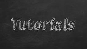 tutorials illustrazione di stock
