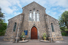 Tutta la Chiesa Anglicana dei san il 24 luglio 2016 a Puerto de la Cruz, Tenerife, Spagna Immagini Stock Libere da Diritti