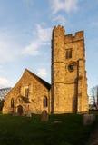 Tutta la chiesa dei san nella parrocchia di Snodland Fotografie Stock Libere da Diritti