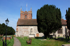 Tutta la chiesa di parrocchia dei san, Odiham, Hampshire Immagini Stock