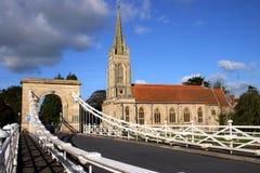 Tutta la chiesa Marlow dei san Fotografia Stock Libera da Diritti