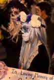 Tutta la processione di anima in Tucson, Arizona Fotografia Stock