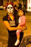 Tutta la processione di anima in Tucson, Arizona Fotografie Stock Libere da Diritti