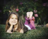 Tutta la ragazza americana Fotografie Stock