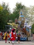 Tutta la stella espressa a Disneyland Immagini Stock Libere da Diritti