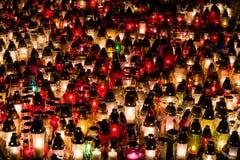 Tutte le candele di giorno del ` s del san Immagini Stock Libere da Diritti