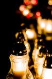 Tutte le candele di giorno del ` s del san Fotografia Stock