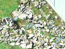 Tutte le dimensione, forma e rocce colorate Fotografie Stock