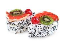 Tutti frutti蛋糕 库存图片