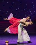Tutti gli uomini sono danza popolare Mortale-bella di Re-cinese della scimmia Fotografia Stock
