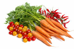 Tutti i generi di verdure Immagine Stock Libera da Diritti
