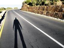 Tutti i viaggi cominciano con? Fotografia Stock Libera da Diritti