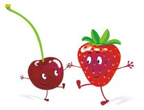 Tuttifrutti-ijs Royalty-vrije Stock Fotografie