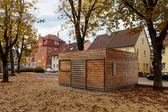 Tuttlingen Historische Huizen Stock Afbeelding