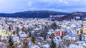 Tuttlingen Winter Panorama Stock Image