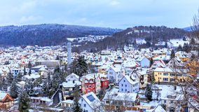 Tuttlingen Winter Panorama Royalty Free Stock Images