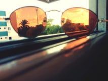 Tutto dipende della vostra prospettiva fotografie stock