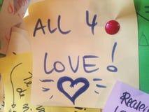 Tutto e amore 4 gli Fotografia Stock Libera da Diritti