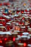 Tutto il giorno di san, cimitero di Mirogoj a Zagabria Fotografie Stock