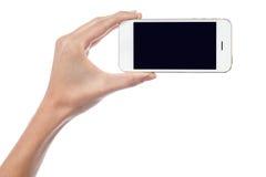 Tutto il nuovo microtelefono mobile è fuori per la vendita fotografia stock libera da diritti