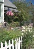 Tutto il portico americano Fotografie Stock Libere da Diritti