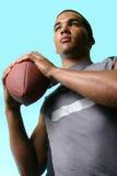 Tutto l'eroe di football americano Immagine Stock Libera da Diritti