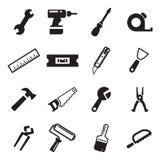 Tuttofare Icons Fotografia Stock