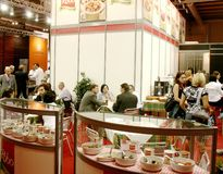 Tuttofood 2009: Milano world food exhibition Royalty Free Stock Photography