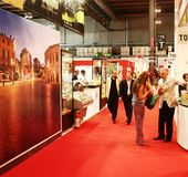 Tuttofood, Milano world food exhibition Royalty Free Stock Photography