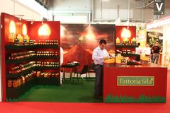 Tuttofood, Milano world food exhibition Royalty Free Stock Photo