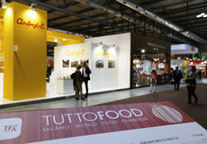 Tuttofood Milano World Food Exhibition 2013 Stock Image