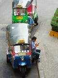 «Tutu» η ταϊλανδική εικονική μεταφορά Στοκ εικόνα με δικαίωμα ελεύθερης χρήσης