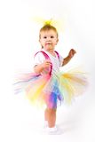 Tutu Baby Girl Royalty Free Stock Photography