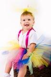 Tutu Baby Girl Stock Image