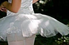 Tutu ballet. Young girl wearing tutu ballet Royalty Free Stock Photo