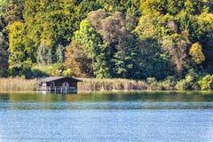 Tutzing cottage See Stockbilder