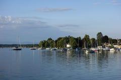 Tutzing at Lake Starnberg, Bavaria Royalty Free Stock Photography