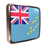 Tuvalu flag icon Stock Photo