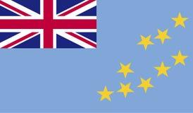 Tuvalu flag image Stock Image