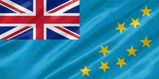 Tuvalu-Flagge lizenzfreie stockfotos