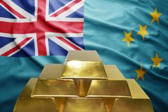 Tuvalu gold reserves Royalty Free Stock Image