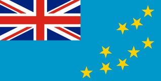 Free Tuvalu National Flag. Vector Illustration. Funafuti Royalty Free Stock Images - 156453559